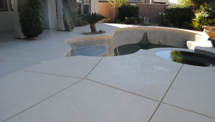 Pool restoration las vegas poolserv for Above ground pool decks las vegas
