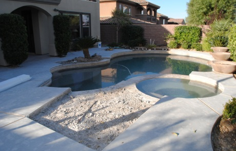 Pool Deck Remodel (during renovation)