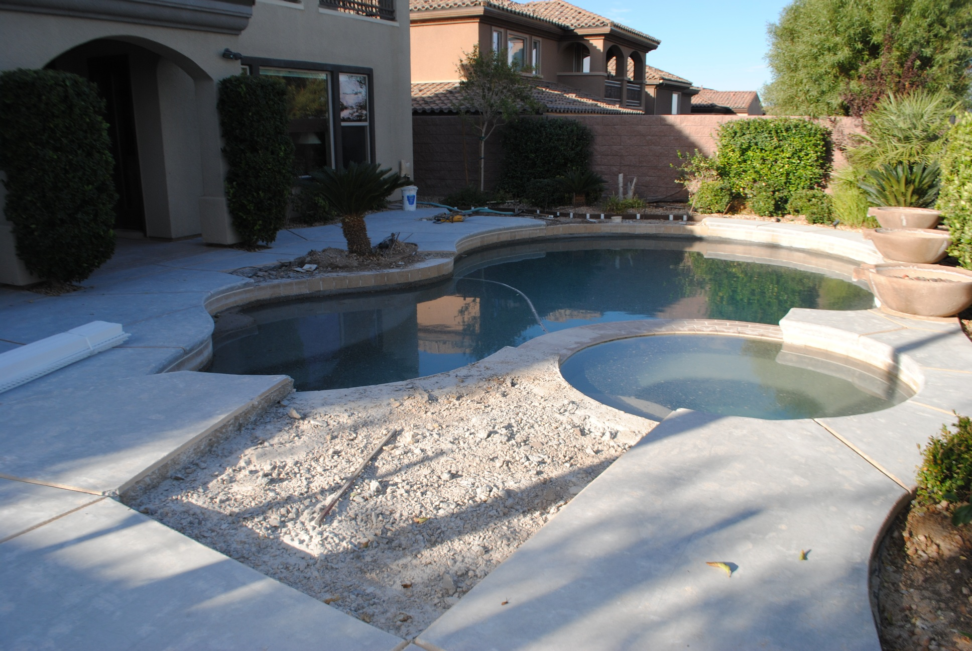 Recent projects poolserv for Pool redesign